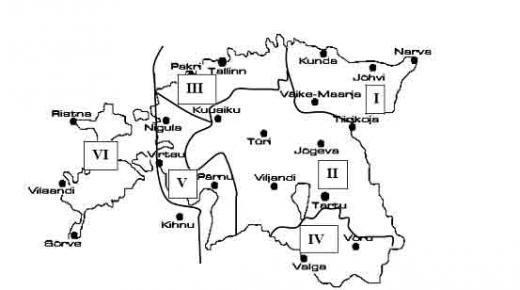 kraatpäevade piirkondande joonis