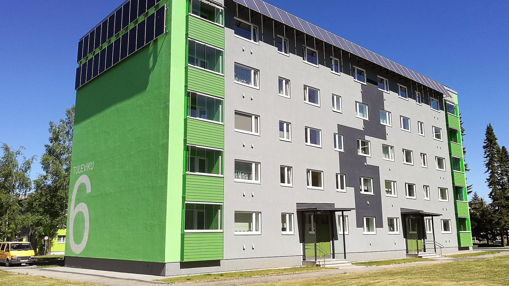 SA KredEx: Terviklikult rekonstrueeritud korterelamu